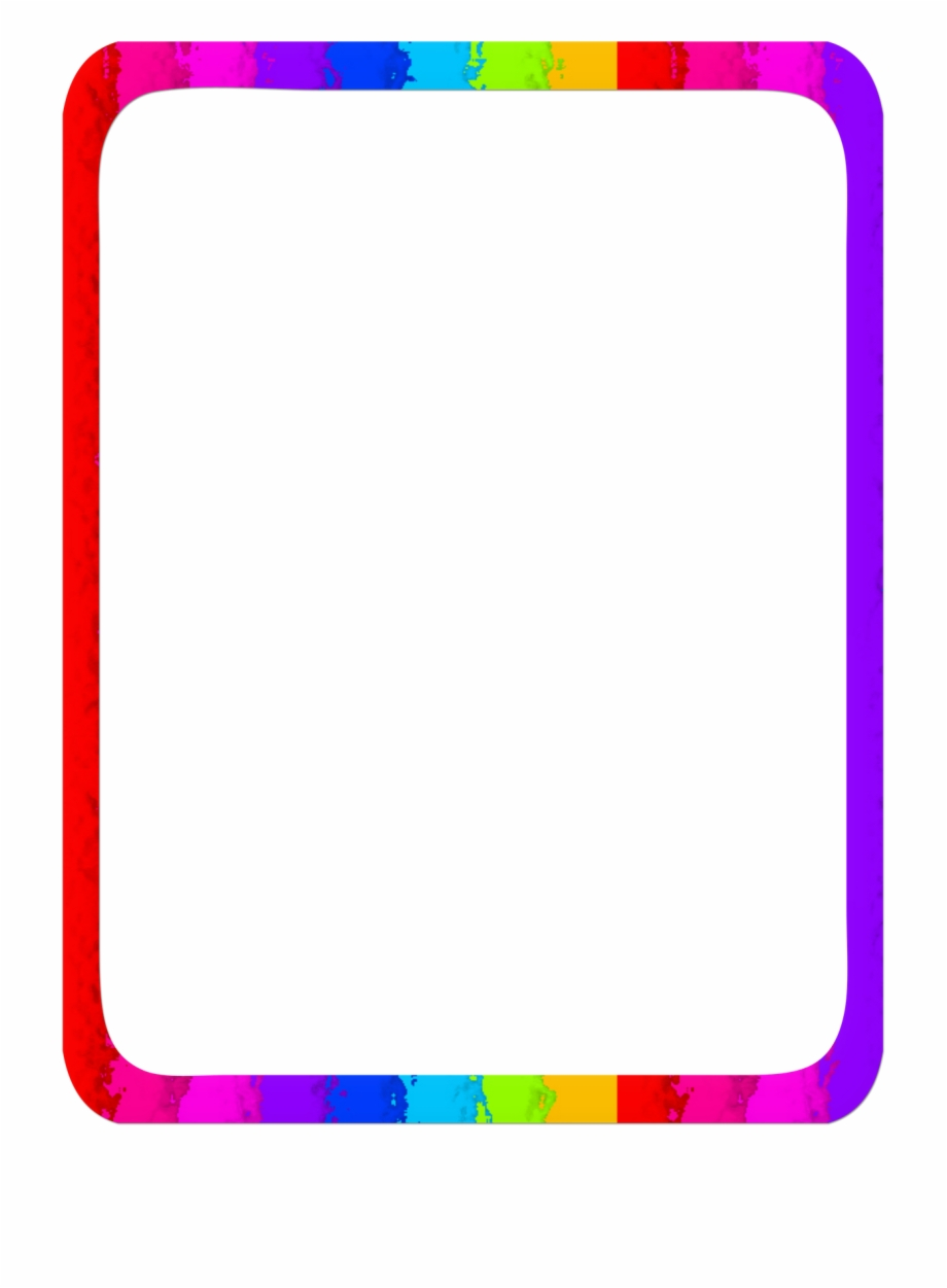 Rainbow border clipart svg free Rainbow Border Free PNG Images & Clipart Download #2575877 ... svg free
