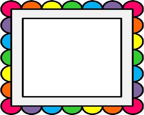 Rainbow border clipart png black and white Free Rainbow Border Cliparts, Download Free Clip Art, Free ... png black and white