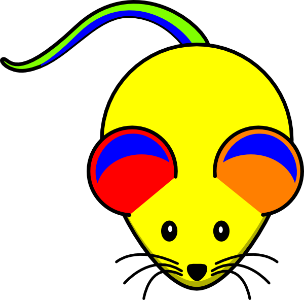 Rainbow cat clipart picture free stock Rainbow Mouse Clip Art at Clker.com - vector clip art online ... picture free stock