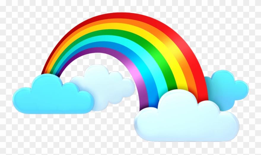Rainbow clouds clipart clip art transparent Rainbow Cloud Png Clip Art Transparent Png (#1021884 ... clip art transparent