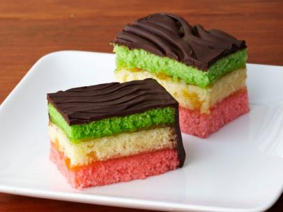 Rainbow Cookies banner black and white