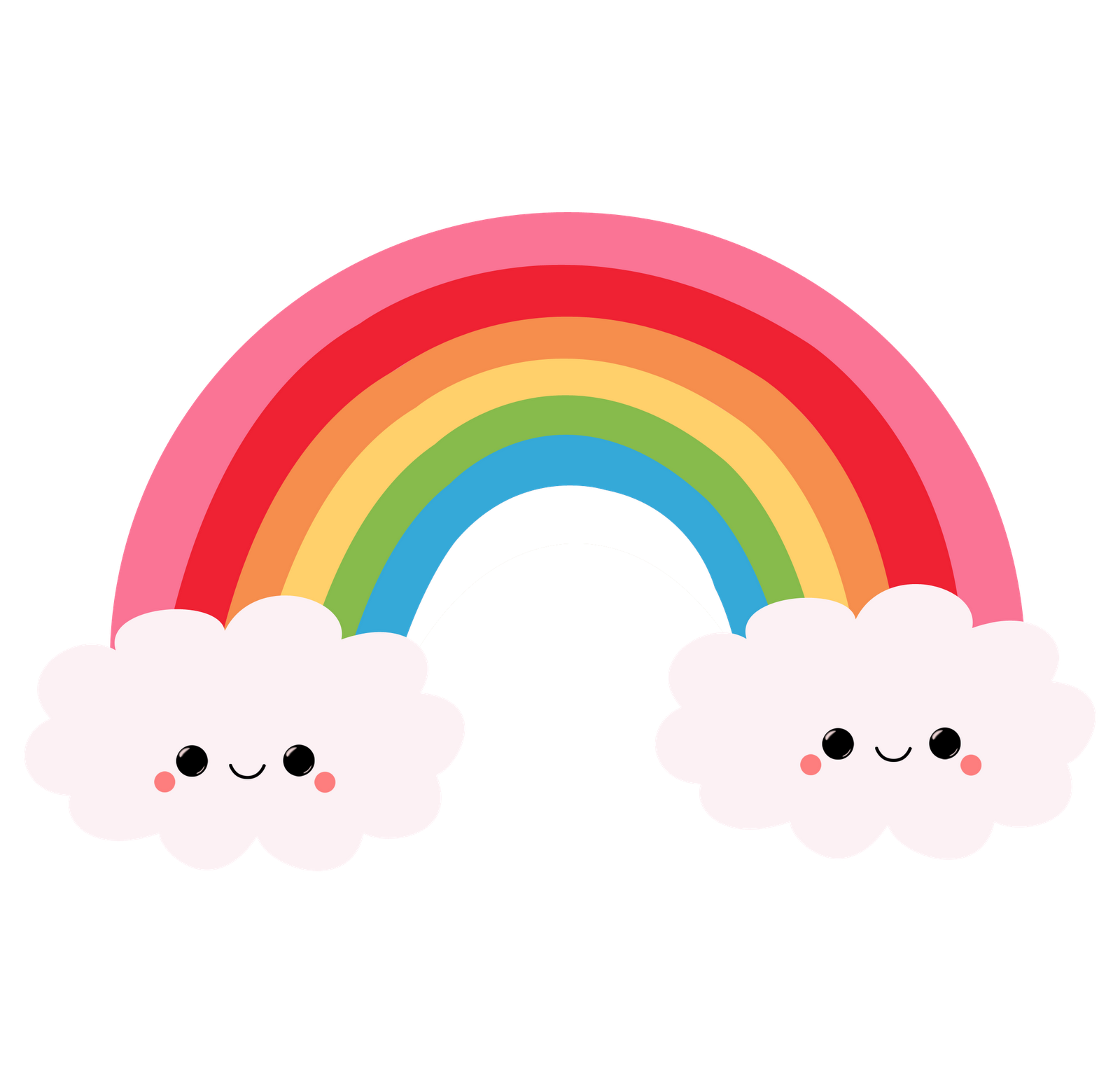 Sun peeking around clouds clipart image library arcoiris png - Buscar con Google | Clipart | Pinterest | Kawaii ... image library