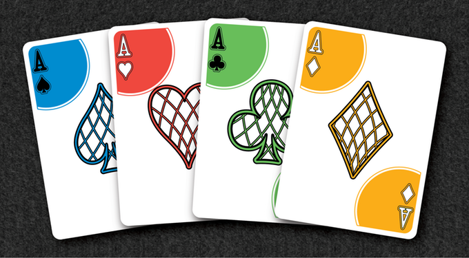 Rainbow deck cards clipart clipart free Rainbow Illusion Playing Cards V2 Relaunch by Landry Sanders ... clipart free