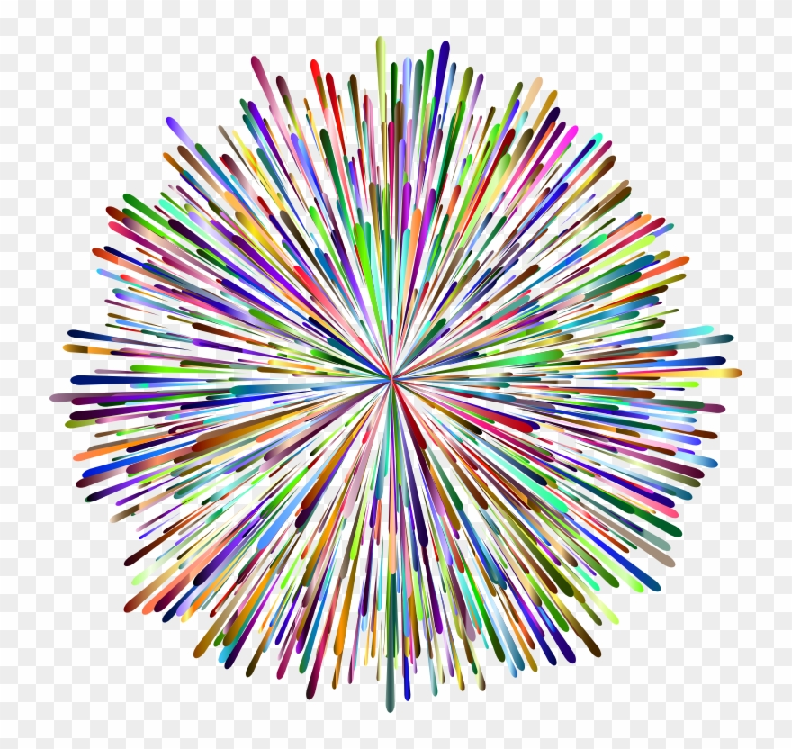 Rainbow fireworks clipart vector royalty free library Fireworks Clip Rainbow - Rainbow Fireworks Transparent ... vector royalty free library