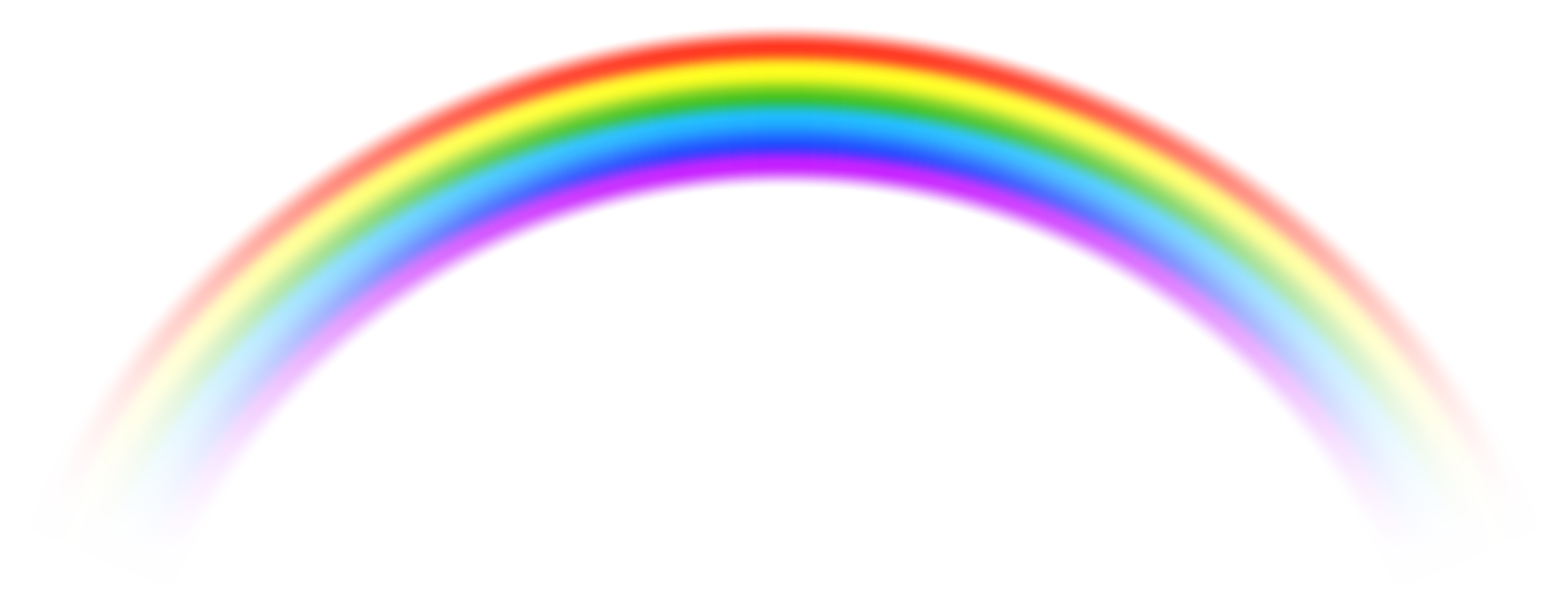 Rainbow heart clipart graphic free stock Transparent Rainbow PNG Free Clip Art Image   Gallery Yopriceville ... graphic free stock