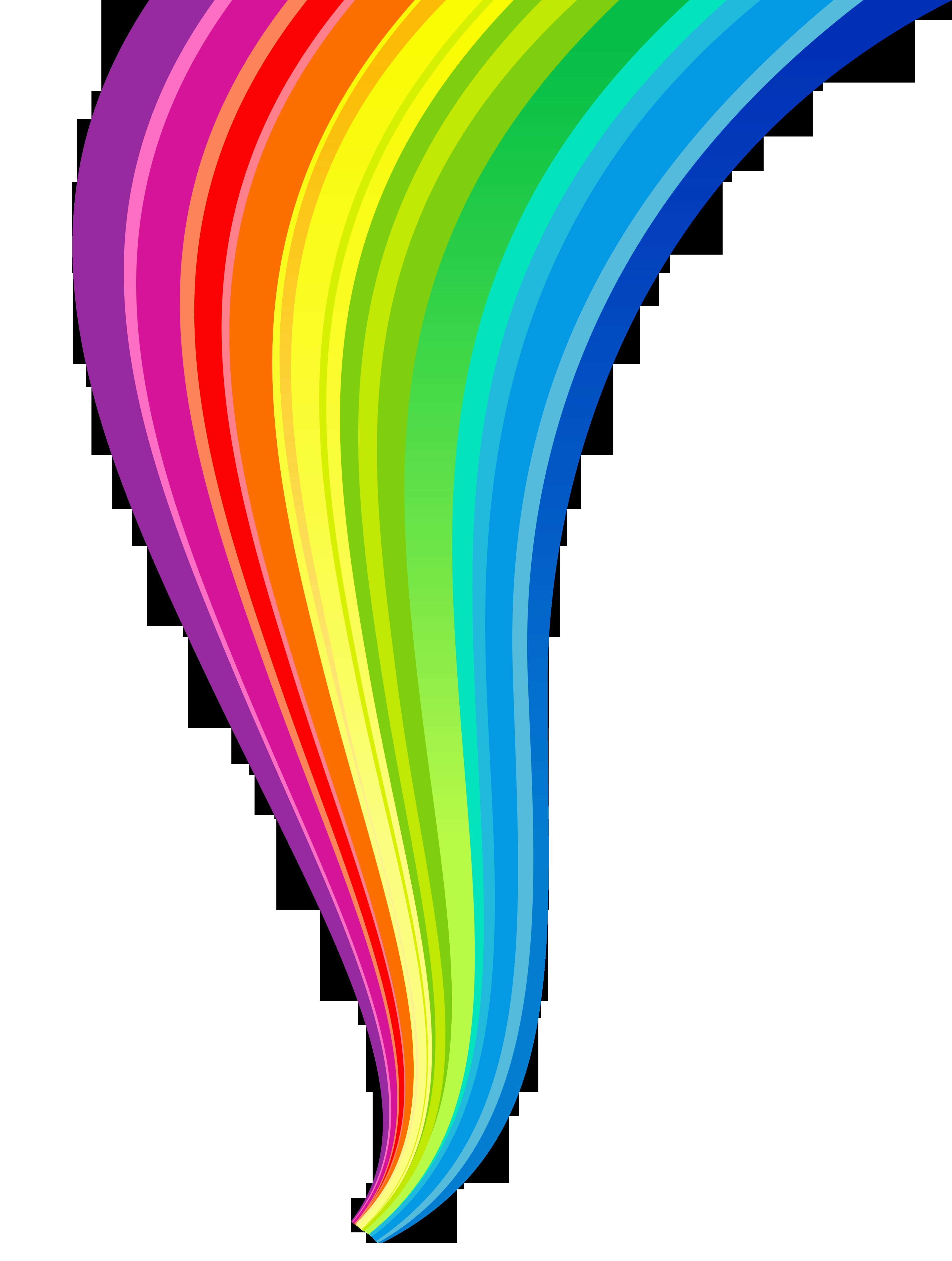 Rainbow line clipart free library Rainbow Clip art - Rainbow Line Transparent Clipart png ... free library