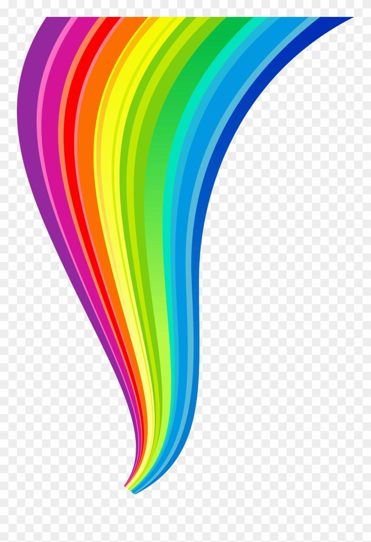 Rainbow line clipart royalty free Rainbow Line Transparent Clipart - Rainbow Png (#5895 ... royalty free