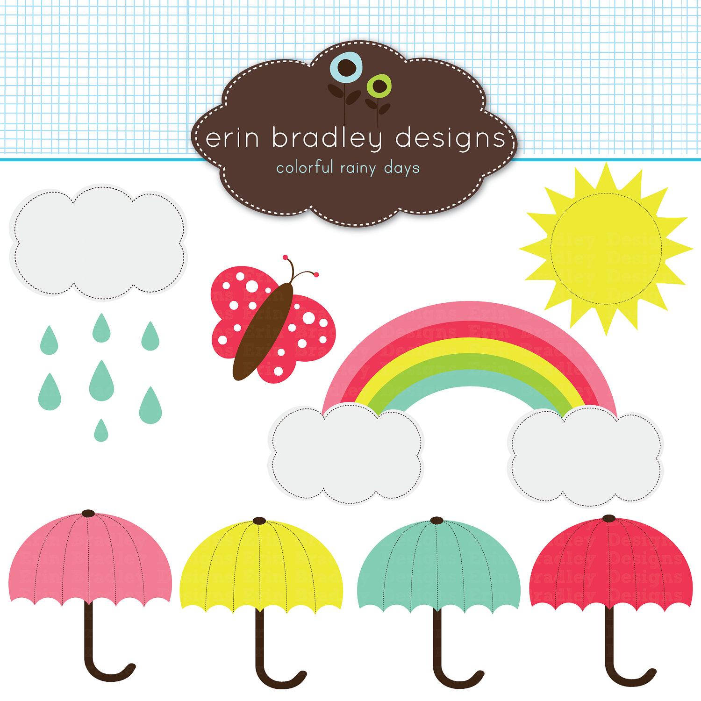 Rainbow rain clouds and umbrella free clipart clip art free Umbrella Rain Clipart   Free download best Umbrella Rain ... clip art free
