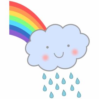 Rainbow rain clouds and umbrella free clipart jpg transparent download Free Rain PNG Images & Cliparts - Pngtube jpg transparent download