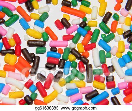 Stock Illustration - Rainbow sprinkles. Clipart Drawing ... jpg royalty free download