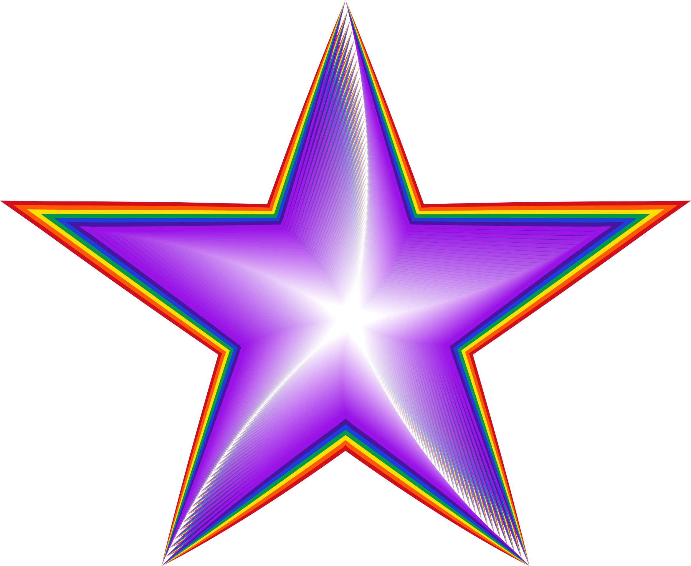 Star rainbow clipart picture library library 28+ Collection of Rainbow Star Clipart | High quality, free cliparts ... picture library library