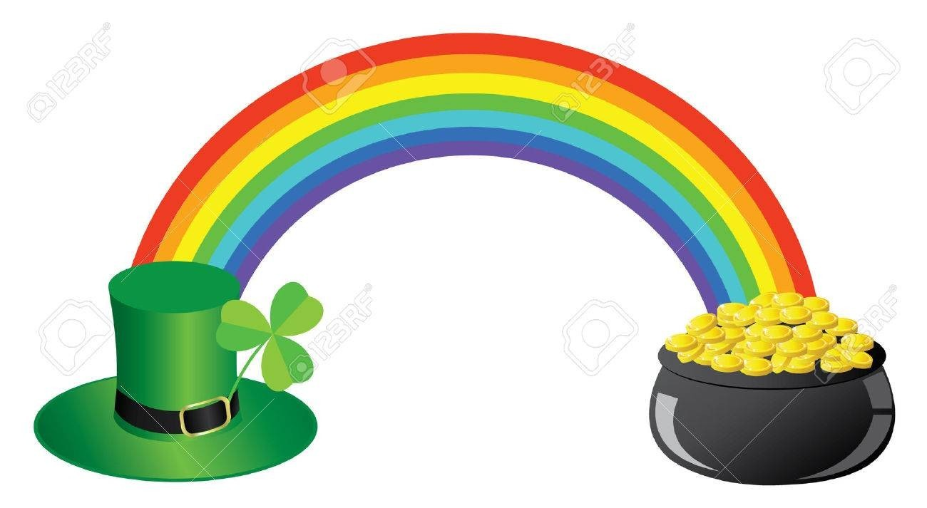 Pot Of Gold Clipart - Clip Art banner transparent library