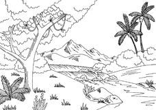 Rainforest clipart black and white 4 » Clipart Portal vector library library