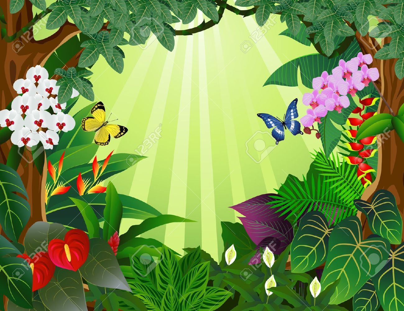 85+ Tropical Rainforest Clipart | ClipartLook royalty free library