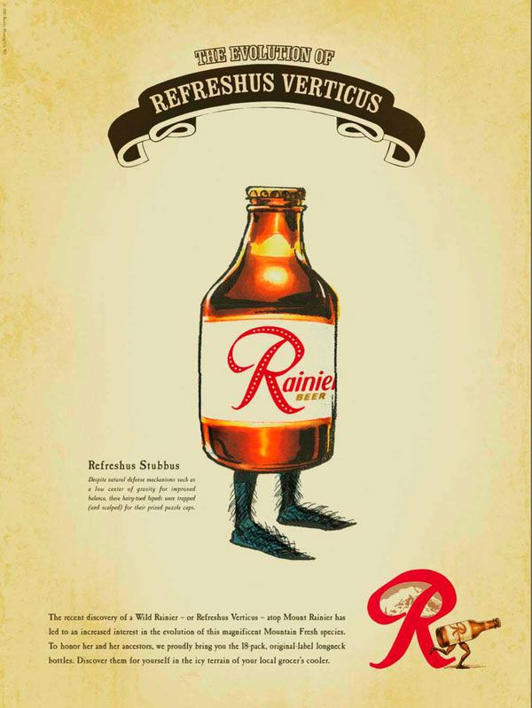 Rainier Beer Posters | Posters | Rainier beer, Beer poster ... vector transparent download