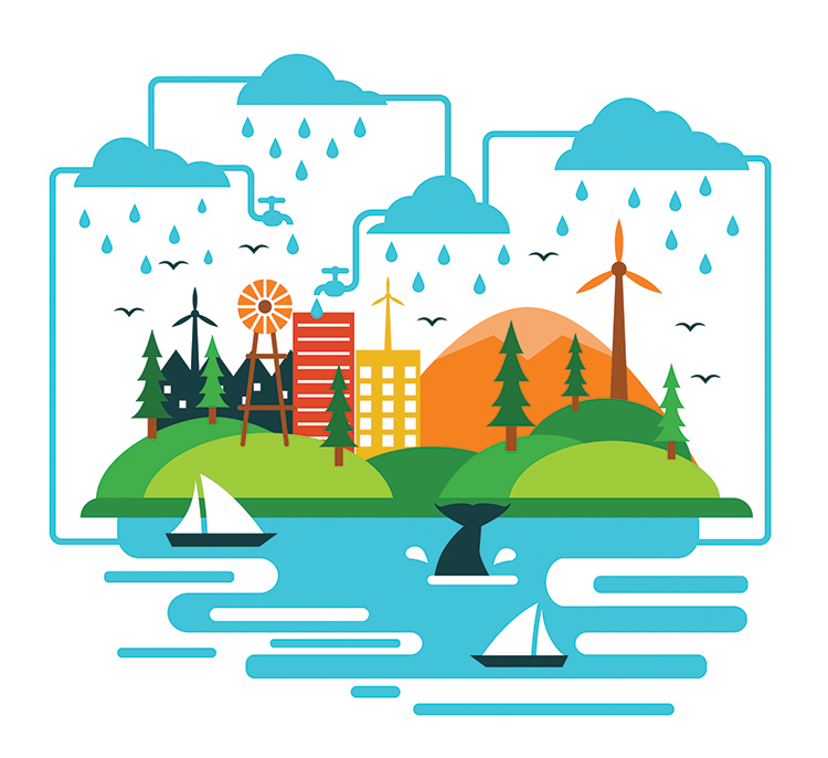Rainwater harvesting clipart picture freeuse library Rain Water Harvesting: This Is The Time! | Pune365 picture freeuse library