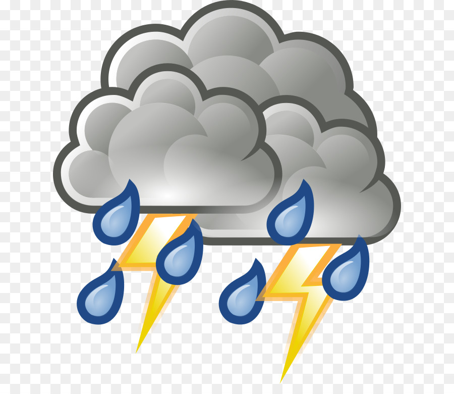 Rain Cloud Clipart png download - 690*768 - Free Transparent ... svg black and white library