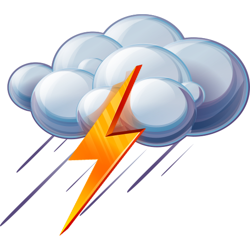 Rain And Thunder Icon, PNG ClipArt Image | IconBug.com picture royalty free stock