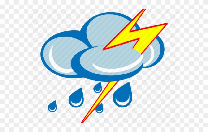 Thunder Clipart Storm Cloud - Rain Icon Transparent - Png ... clipart transparent