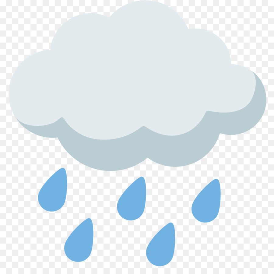 Rainy clouds clipart png transparent stock Rain Cloud Clipart png download - 2000*2000 - Free ... png transparent stock