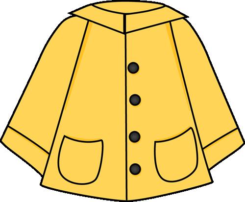 Rainy season clothes clipart clip transparent stock Raincoat Clip Art - Raincoat Image | Sunshine, Rain, Clouds ... clip transparent stock
