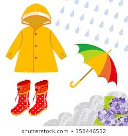 Rainy season clothes clipart clipart black and white library Clothes we wear in rainy season clipart 2 » Clipart Portal clipart black and white library