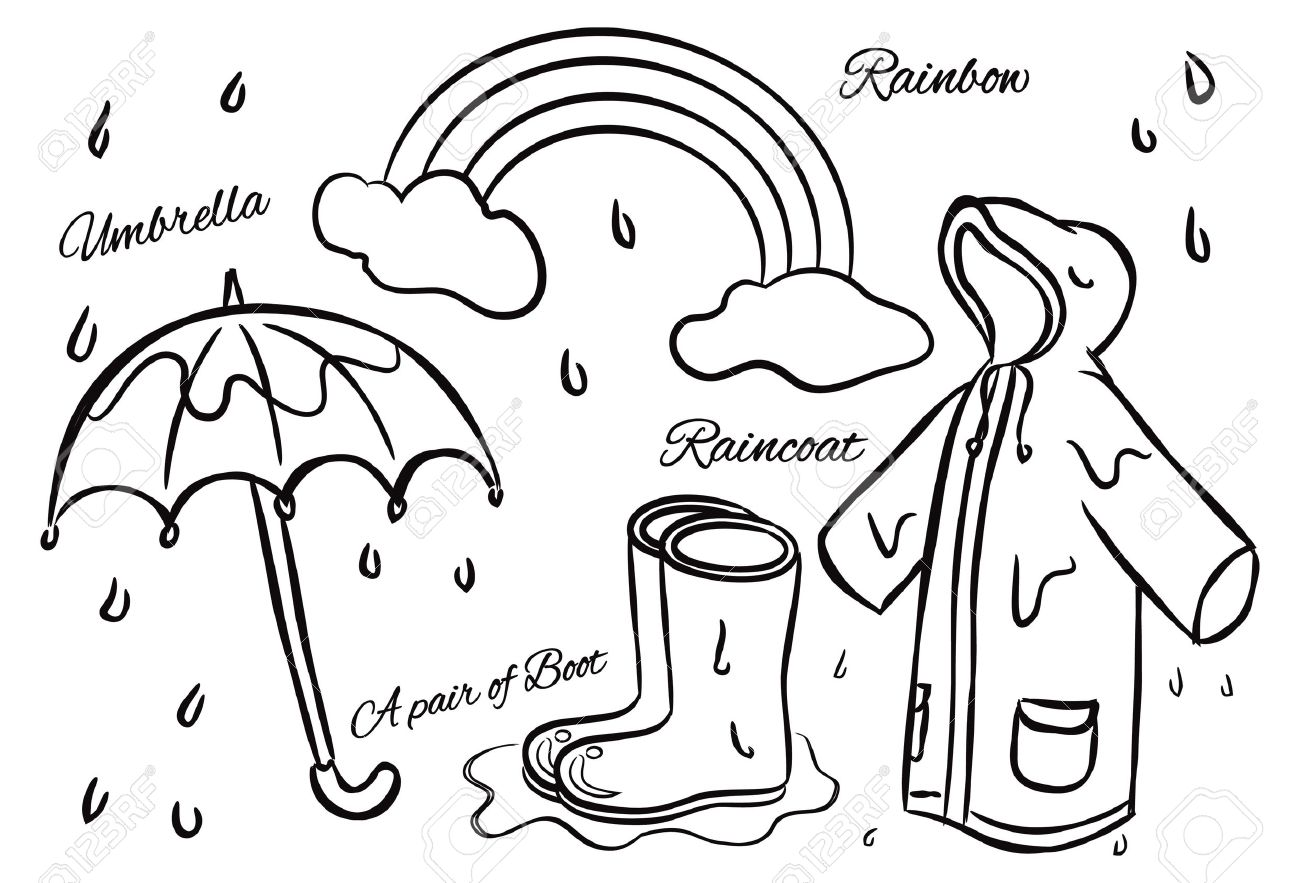 Rainy season clothes clipart graphic free Rainy season clothes clipart 7 » Clipart Station graphic free