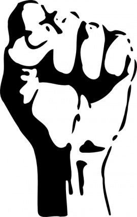 Raised fist clipart vector library download Free Raised Fist Clipart and Vector Graphics - Clipart.me vector library download