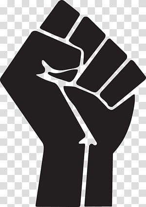 Raised fist clipart picture black and white download Raised fist , Of A Fist transparent background PNG clipart ... picture black and white download