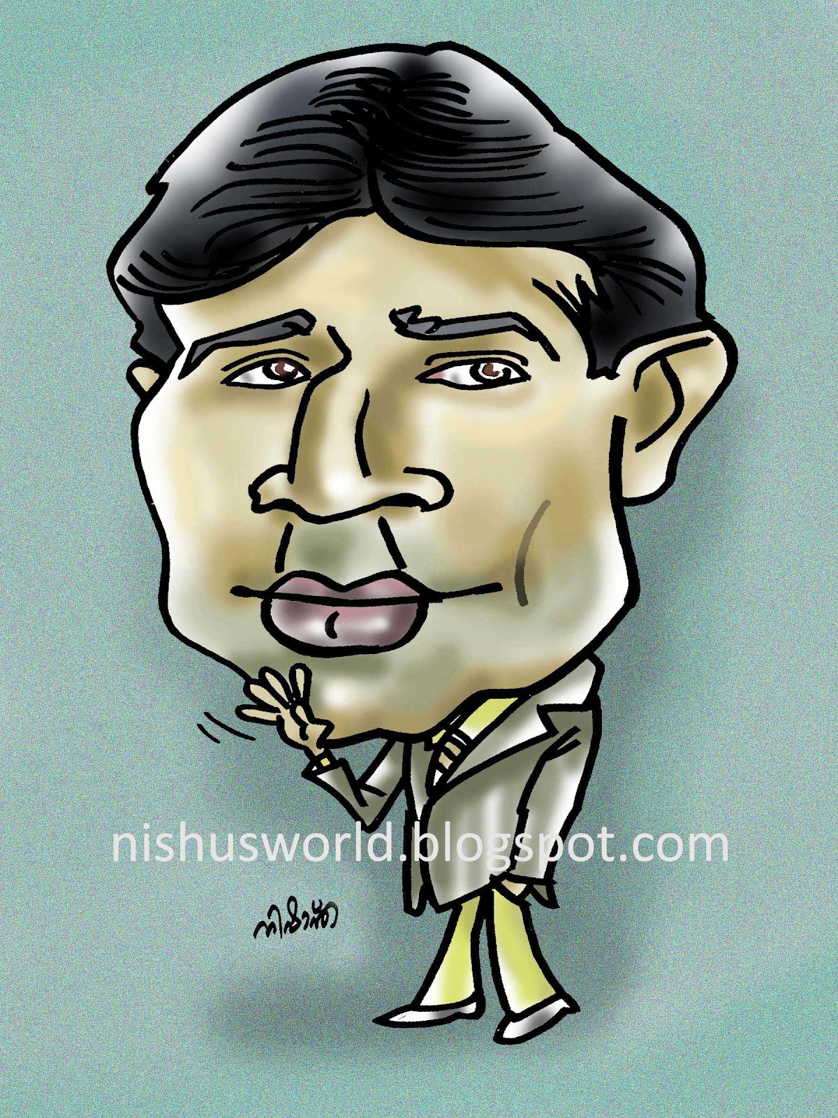 Rajesh khanna clipart graphic library download Rajesh Khanna ( 2012 ) | Nishu\'s World of Caricatures graphic library download