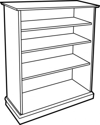 Wooden Bookcase clip art | Clipart Panda - Free Clipart Images picture download
