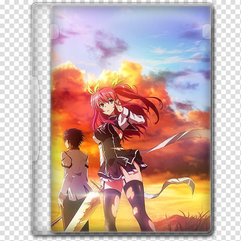 Anime Fall Season Icon , Rakudai Kishi no Eiyuutan, v ... clip art transparent stock