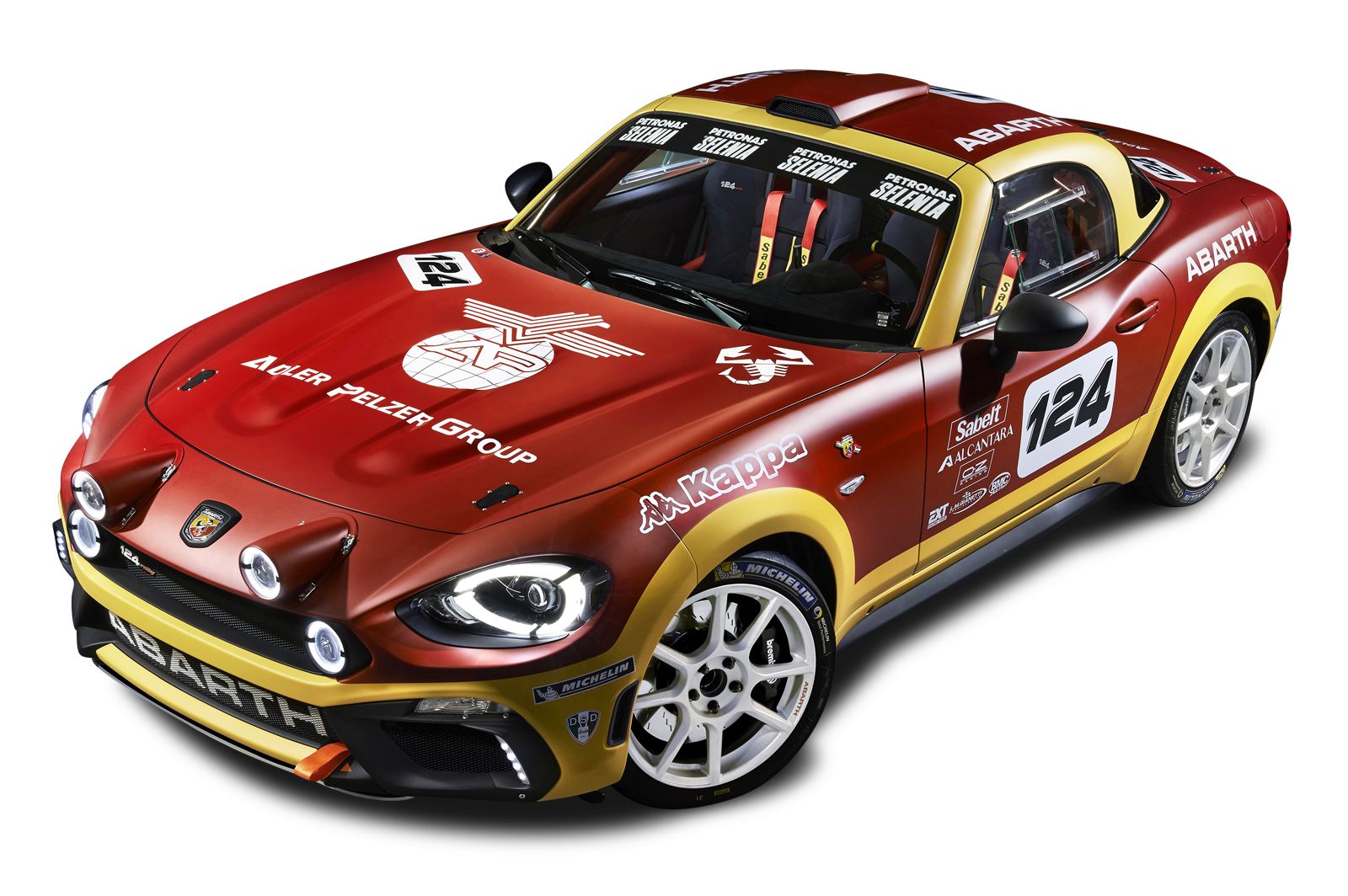 Rally car clipart clip art royalty free library Red Fiat 124 Spider Abarth Rally Car PNG Image - PurePNG | Free ... clip art royalty free library