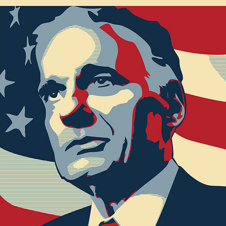 On Our Minds: Ralph Nader | To the best of our KNOWLEDGE graphic black and white