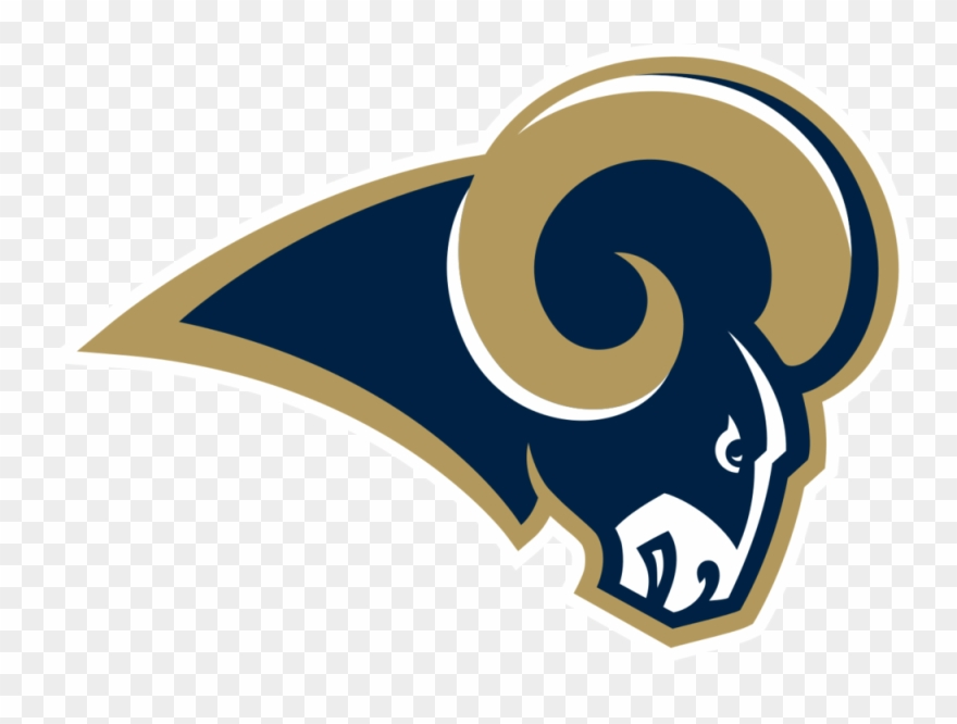 Rams clipart graphic free library Nfl Rams Logo - Los Angeles Rams Logo Png Clipart (#517466 ... graphic free library