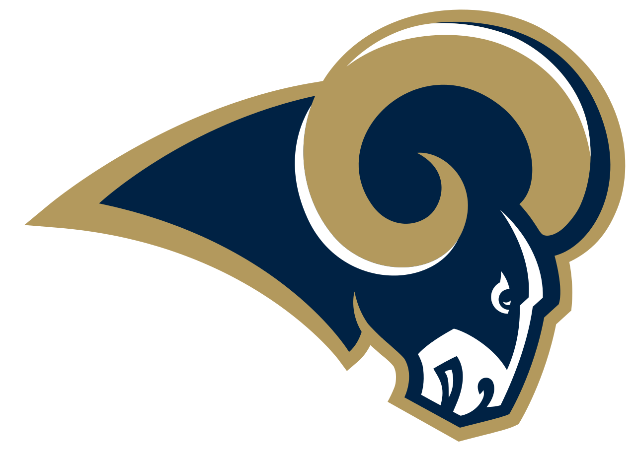 Rams football jersey clipart clip art library Pro Football Journal: Los Angeles Rams All Career-Year Team clip art library