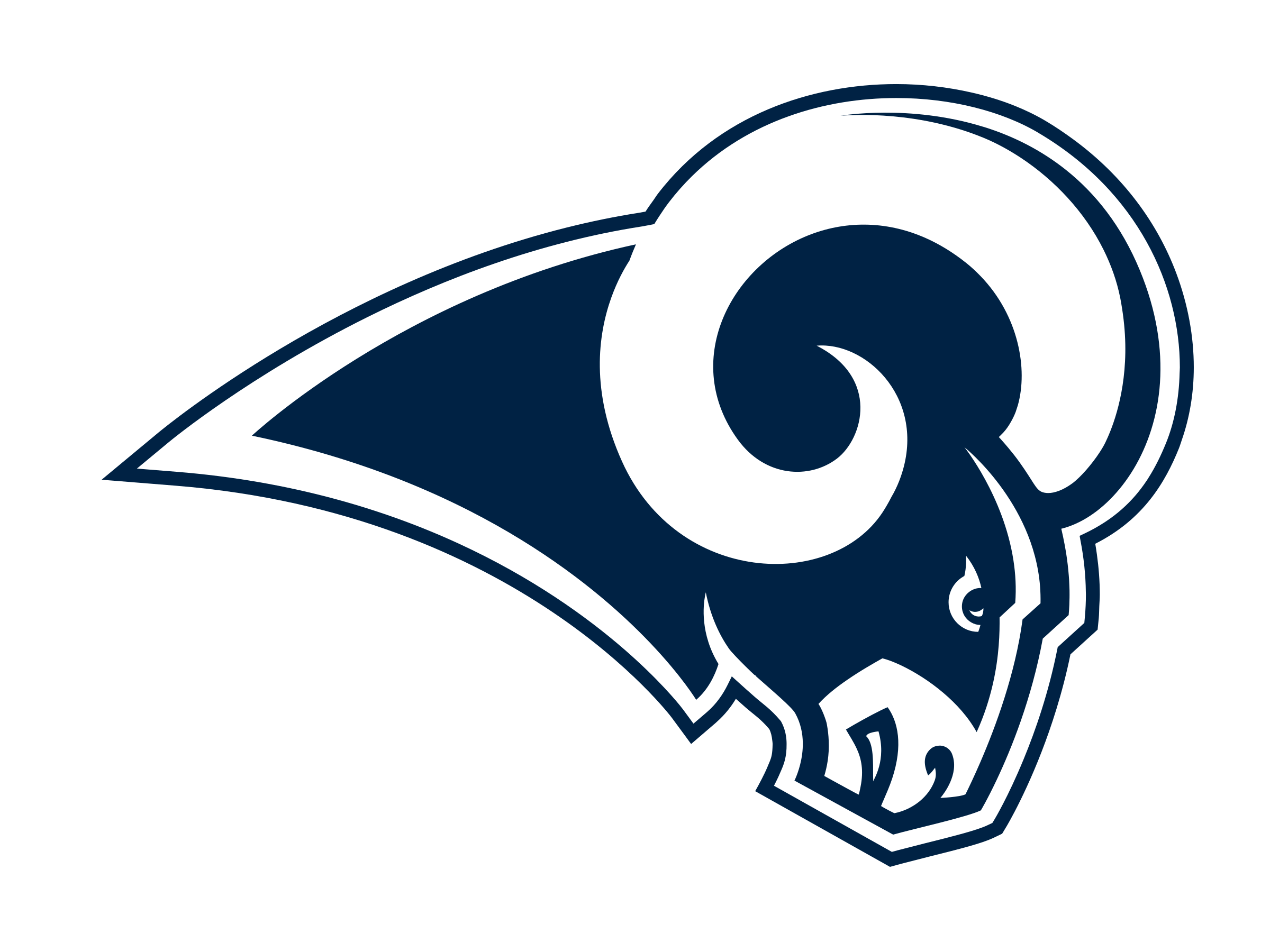 Rams football logo clipart image royalty free download Los Angeles Rams Logo PNG Transparent & SVG Vector - Freebie Supply image royalty free download