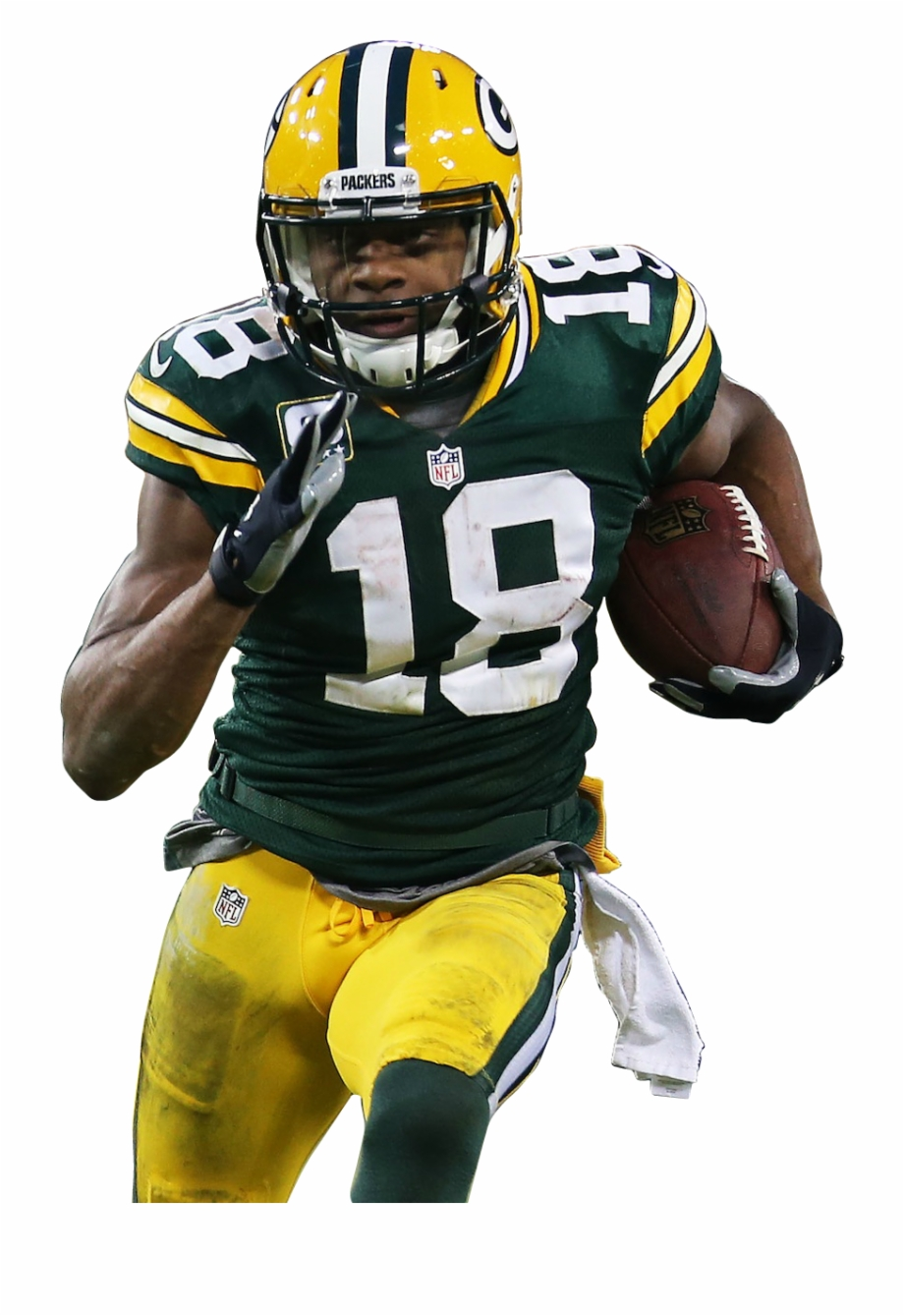 Randall cobb clipart picture black and white download Randall Cobb - - Sprint Football Free PNG Images & Clipart ... picture black and white download