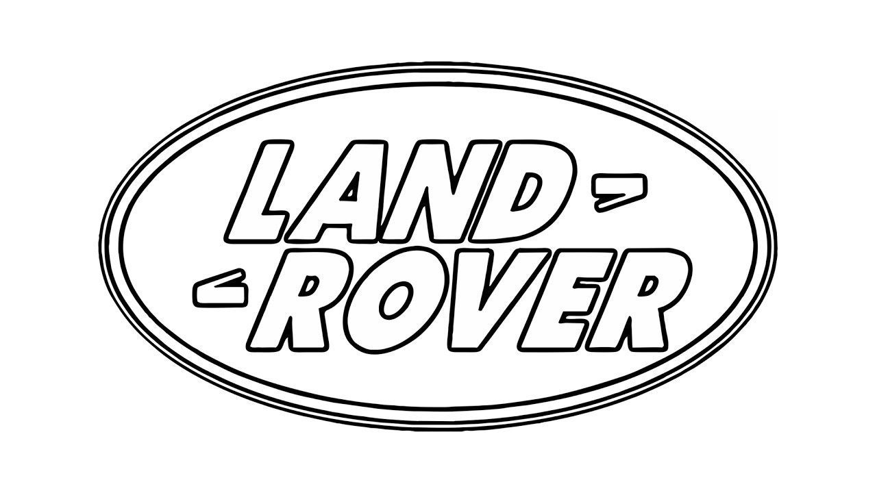 Range rover logo clipart jpg download How to Draw the Land Rover Logo (symbol) jpg download
