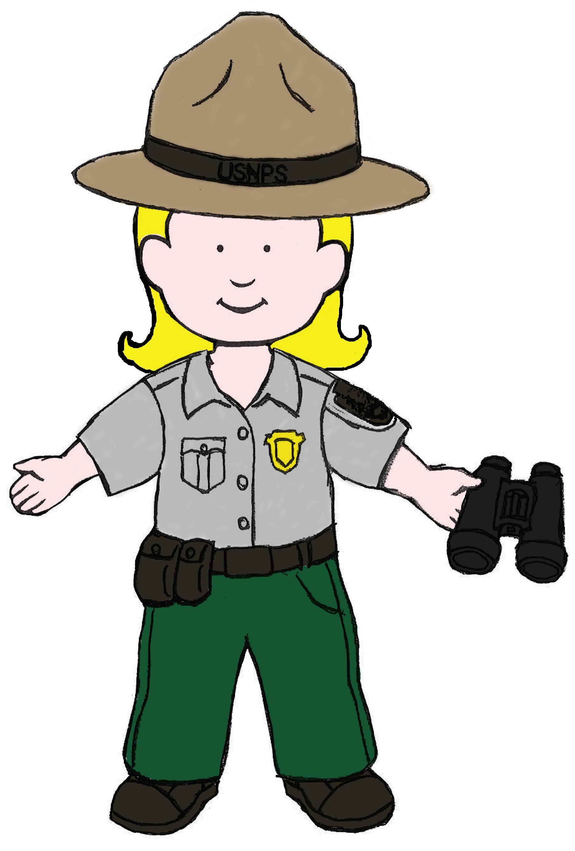 Ranger clipart jpg black and white Park ranger clipart 9 » Clipart Station jpg black and white