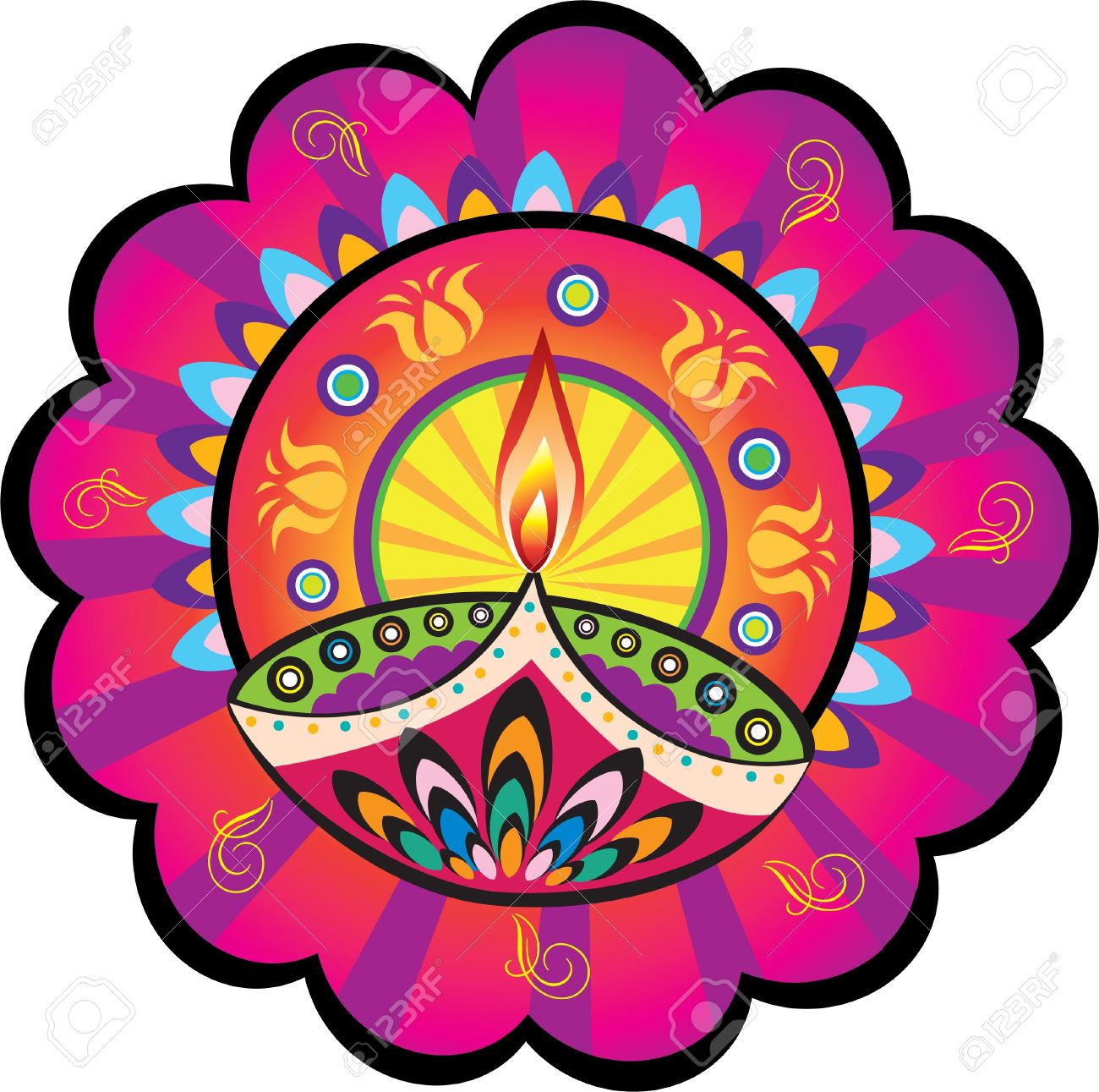 Rangoli clipart hd graphic stock Collection of Rangoli clipart | Free download best Rangoli ... graphic stock