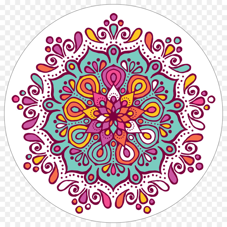Rangoli clipart hd banner black and white Floral Flower Background png download - 5000*5000 - Free ... banner black and white
