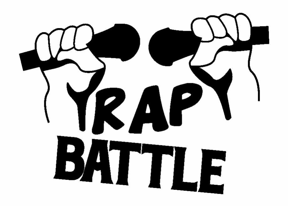 Rap battle clipart banner black and white stock Sticker Citation Musique Rap Battle Ambiance Sticker Free ... banner black and white stock