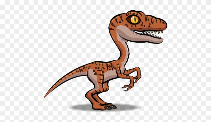 Raptor clipart png download Velociraptor Clipart Raptor - Raptor Dinosaurs Cartoon - Png ... png download