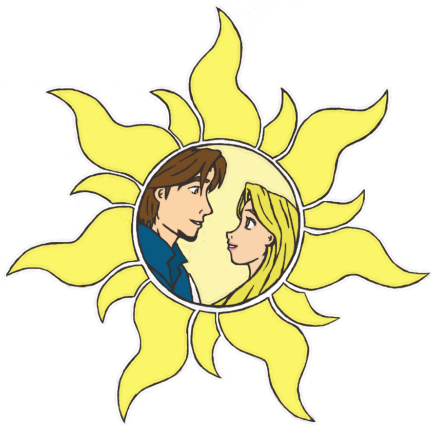 Tangled sun png clipart jpg transparent Tangled Sun - No Background by Liayso on DeviantArt jpg transparent