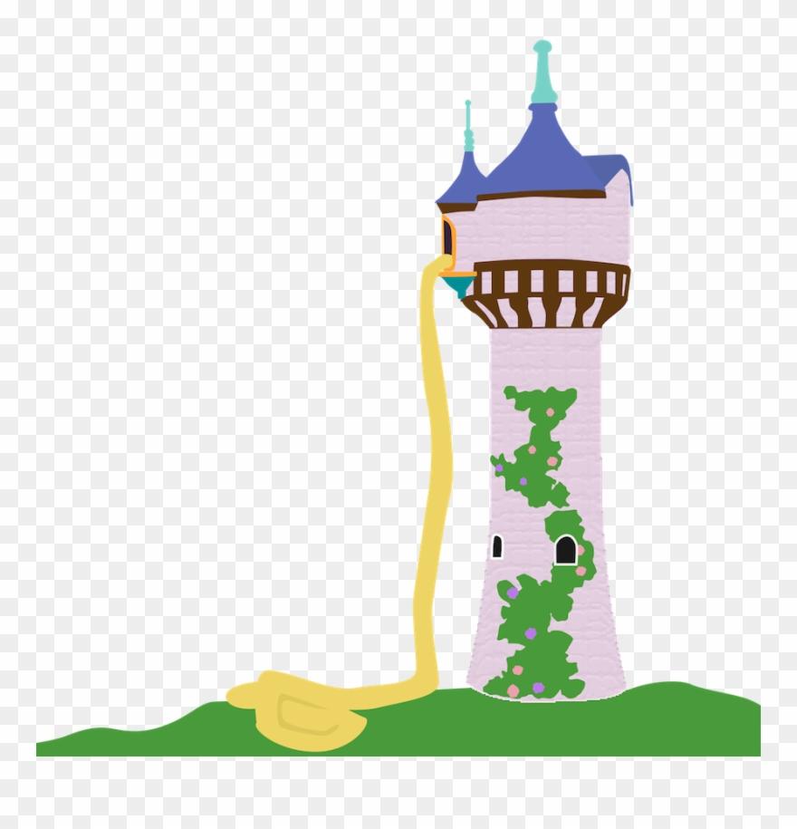 Rapunzel tower clipart vector transparent download Rapunzel Tower Disney Princess Tangled Clip Art - Rapunzel ... vector transparent download