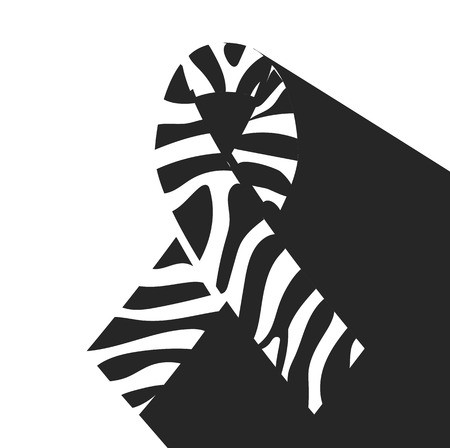 Rare awareness ribbon clipart banner free stock icon Zebra-print ribbon - symbol of rare-disease awareness ... banner free stock