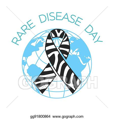 Rare awareness ribbon clipart banner download Clip Art Vector - Rare disease day linear style. Stock EPS ... banner download