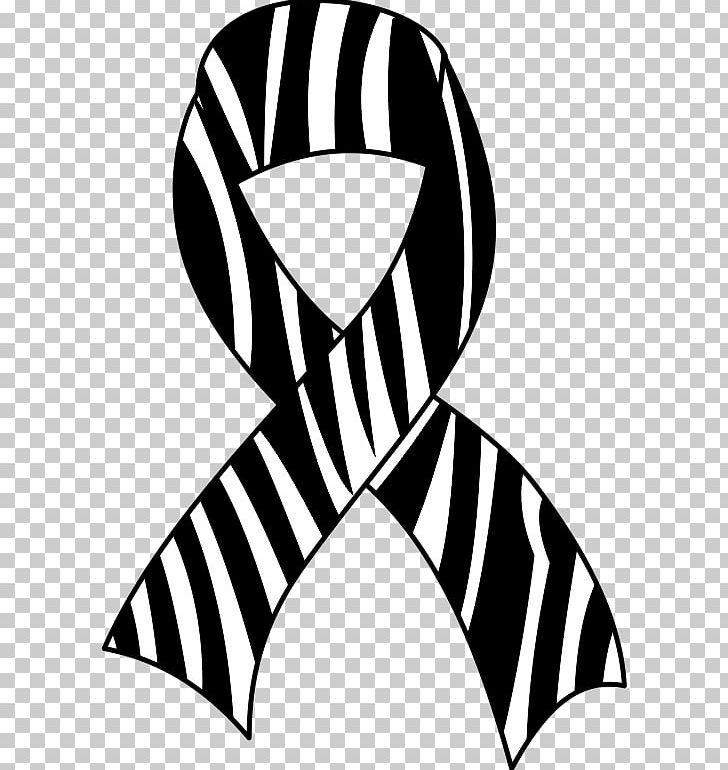 Rare awareness ribbon clipart black and white stock Awareness Ribbon Zebra Ehlers–Danlos Syndromes PNG, Clipart ... black and white stock