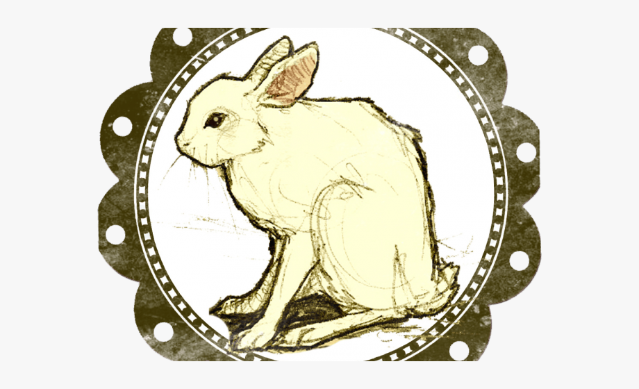 Rare clipart picture free library Rare Clipart Charm - Follow The White Rabbit #685988 - Free ... picture free library